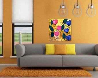 Bright Flowers Painting