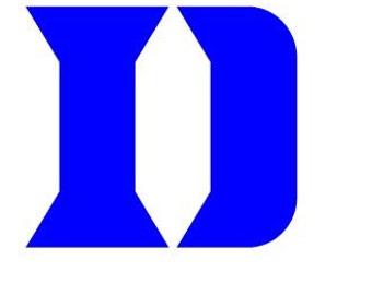 Duke Blue Devils Vinyl Decal Sticker Ncaa Basketball Car