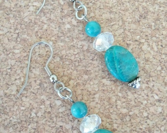 Tess - Turquoise earrings