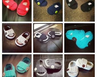 Baby crochet little mister loafers, baby boy loafers, black baby loafers, baby boy shoes, boy shoes