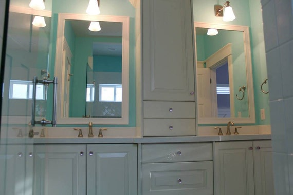 Custom Frames For Existing Bathroom Mirrors