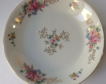 Union China made in Japan floral and gold bowl
