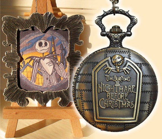 Tim Burton's Nightmare Before Christmas gift set steampunk pocket ...
