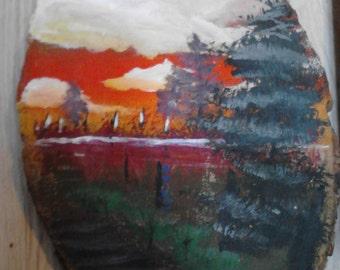 Flat Art paintings