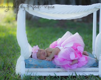 Newborn Canopy  Photo Prop or Doll Bed