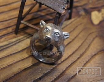 MW R1004 The 925 Silver  Bear Ring