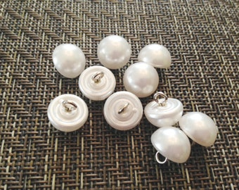 """Vintage Pearl Buttons 1/2"""""""