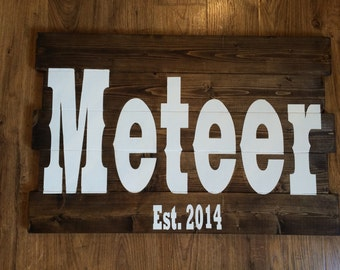Customized Name Signs| Wood Sign | Personalized Sign