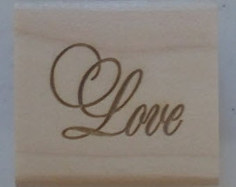 Love Rubber Stamp - 204W01