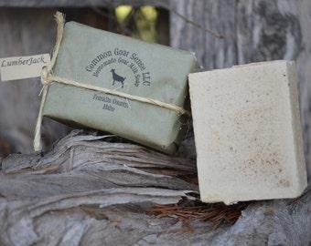 Lumber Jack Goat Milk Castile Soap