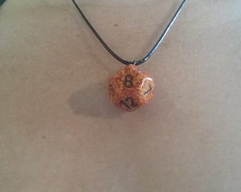 Polyhedral dice Necklace