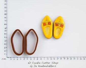 Wooden Shoes Cookie Cutter Set