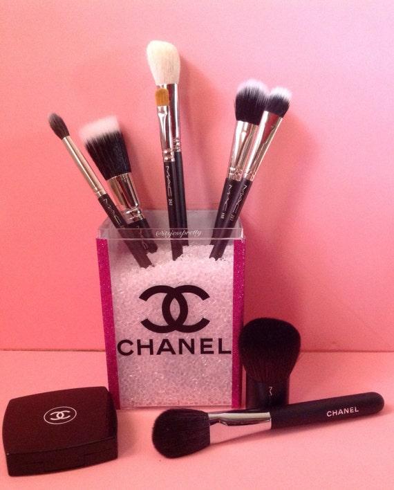 pink explosion makeup brush holder by itsjesspretty on etsy. Black Bedroom Furniture Sets. Home Design Ideas