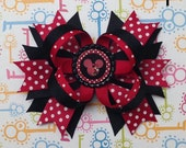 Over the Top Red Minnie Mouse Bow