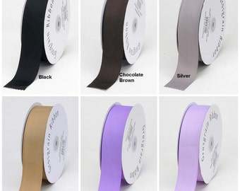 Going Out Of Business 5/8 RIBBON/5 Yards of solid Grosgrain Ribbon/ 32 Colors to Choose from/WHOLESALE GROSGRAIN- Matte Ribbon