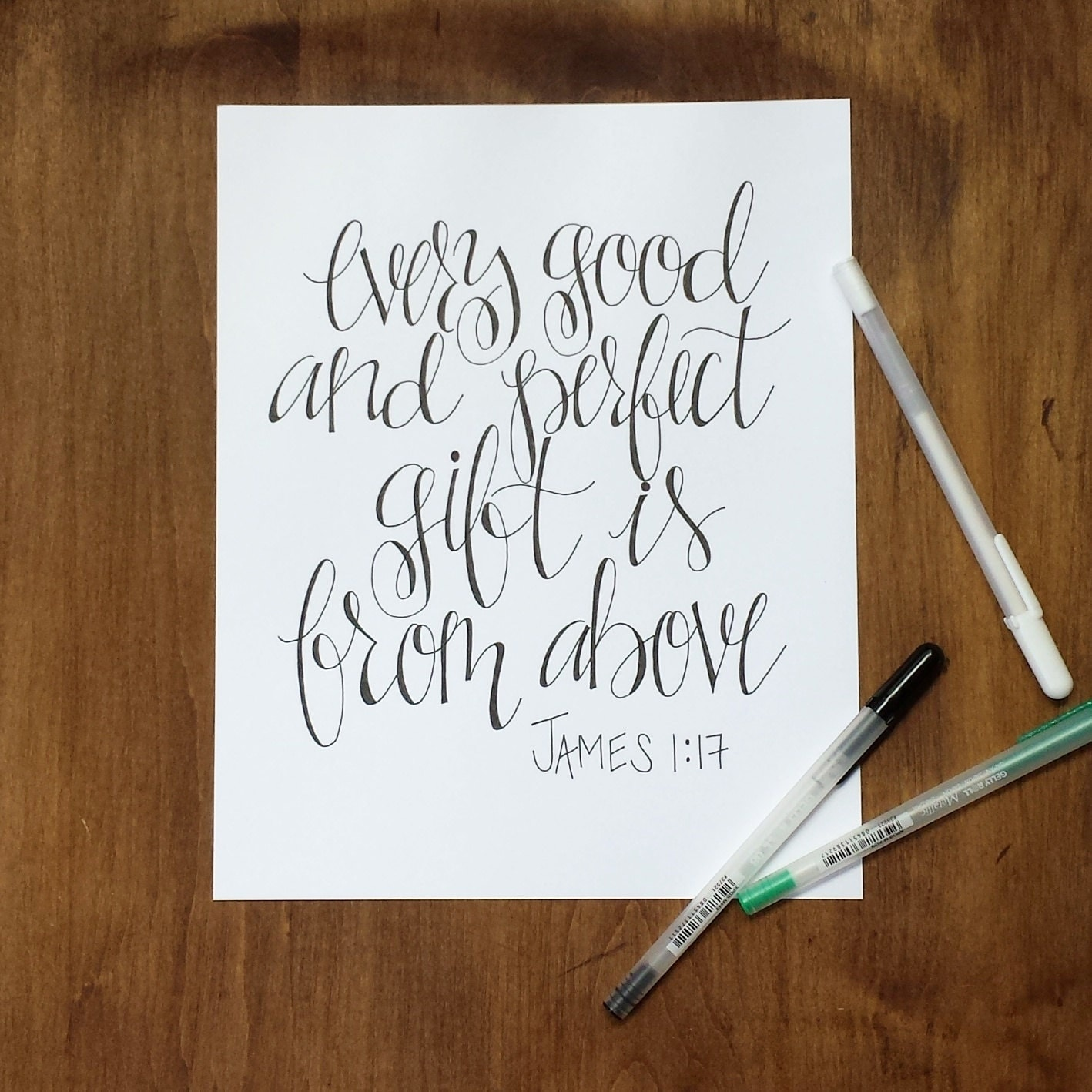 Custom Handwritten Hand Lettering Calligraphy By Penscriptink