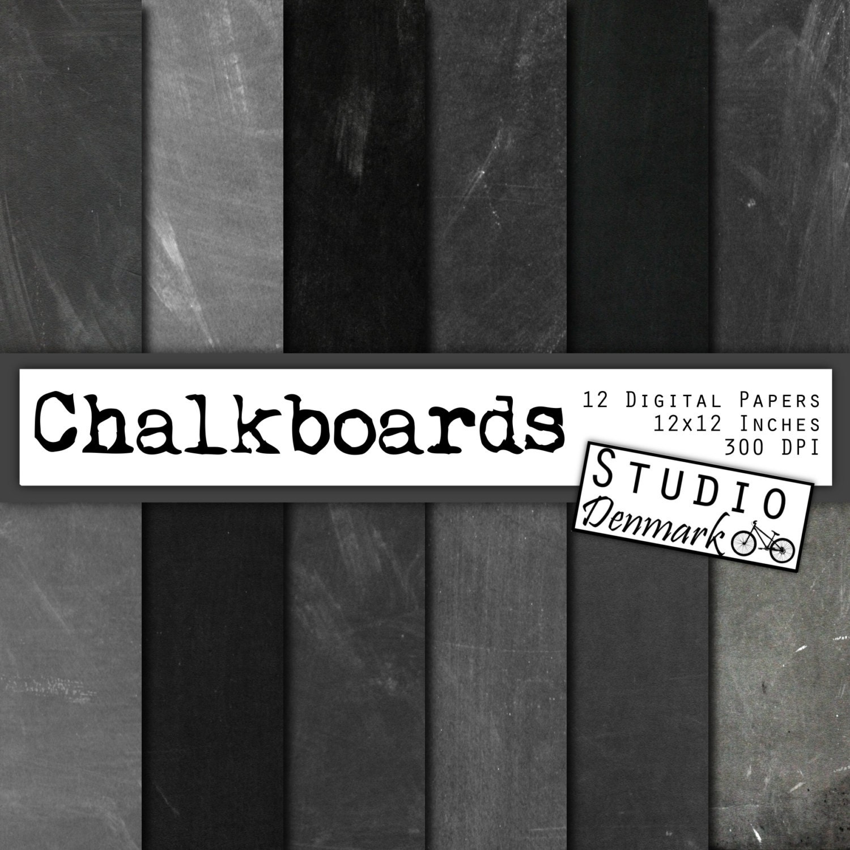 Digital Scrapbooking Chalkboard Background Freebies by ...