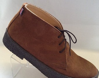 Chukka Boots in Tan Suede