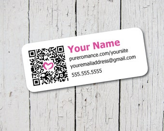 Custom Labels for your Pure Romance Business - Print on Avery 8160