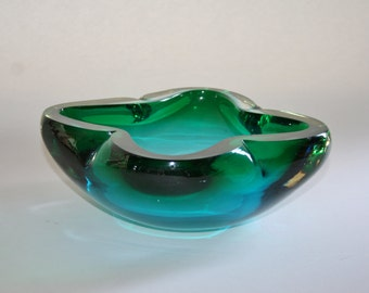 Heavy Art Glass Bowl