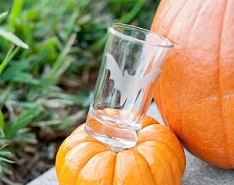 CLEARANCE Bat Shot Glass, Halloween Shot Glass, Costume Party Favor