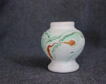 Cute Mini Vase, Nemadji Pottery