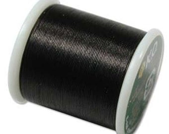 KO Beading Thread - 50m - Black