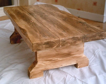 hand made rustic coffee table 005