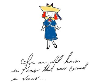 Madeline Art Digital Print and Quote