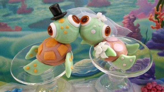 turtle wedding cake toppers sea turtle wedding cake topper wedding cake 21320