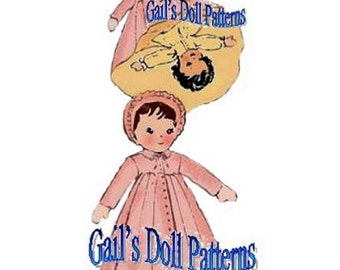 Daytime / Night-time Upside-Down Doll Pattern