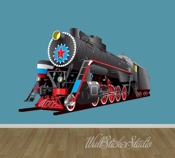 Train Wall Decal by WallStickerStudio