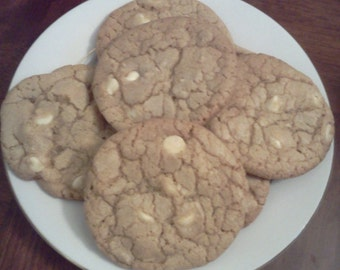 Homemade White Chocolate Cookies!