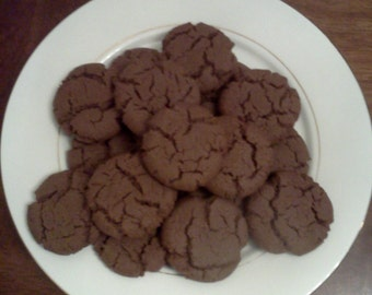 Homemade Chocolate Cake Cookies!