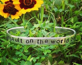Lloyd Dobler- Say Anything movie quote bracelet