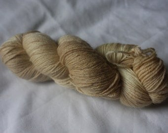 """OxfordKitchenYarns 80:20 British Bluefaced Leicester and Bamboo """"Butter"""" Sock Yarn"""