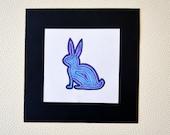 Colorful Rabbit / Original Marker Drawing