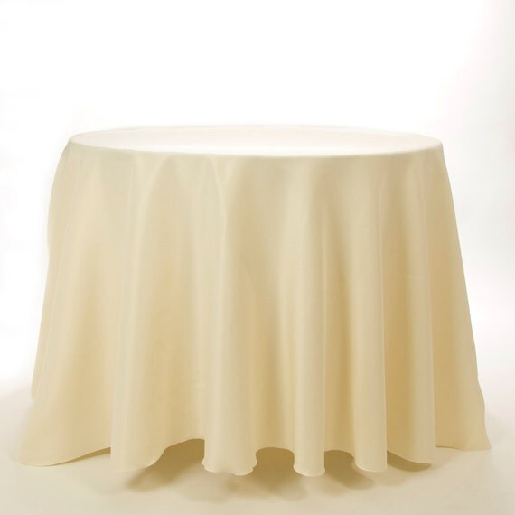 120 ivory round tablecloth on 100 polyester by for 120 round table cloths