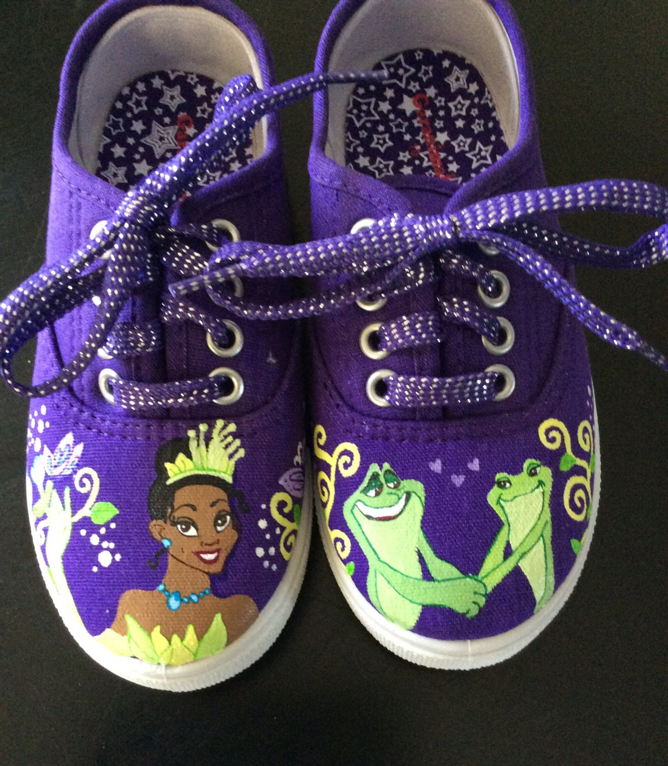 Princess Tiana Shoes: Princess Tiana Girl's Shoes Birthday Gifts By