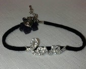 Handmade autism awareness love bracelet with resin puzzle piece free shipping