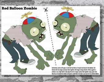 Floating Balloon Zombie