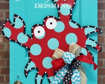 Funky Crab Door Hanger, Door Decoration