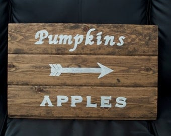 Fall Pallet Sign