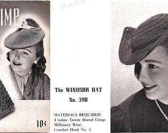 Tower Brand Gimp No. 3 Bags, Hats & Novelties 1940's