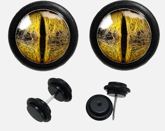 Dragon Eyes Fake  Ear plugs