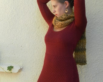 Great big scarf wool