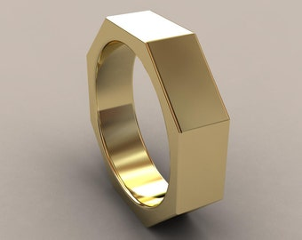 Attractive Wedding Rings Bolt And Nut Wedding Rings