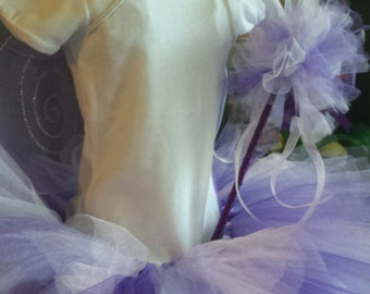Toddler Fairy Costume Complete Set Multiple Colors
