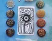 Feather & Ink Tarot Deck: The Major Arcana