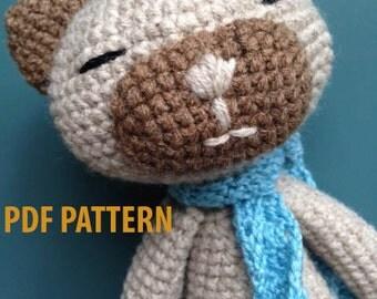 Pattern Siamese kitten amigurumi